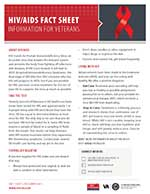 Cover image: HIV/AIDS Care Fact Sheet