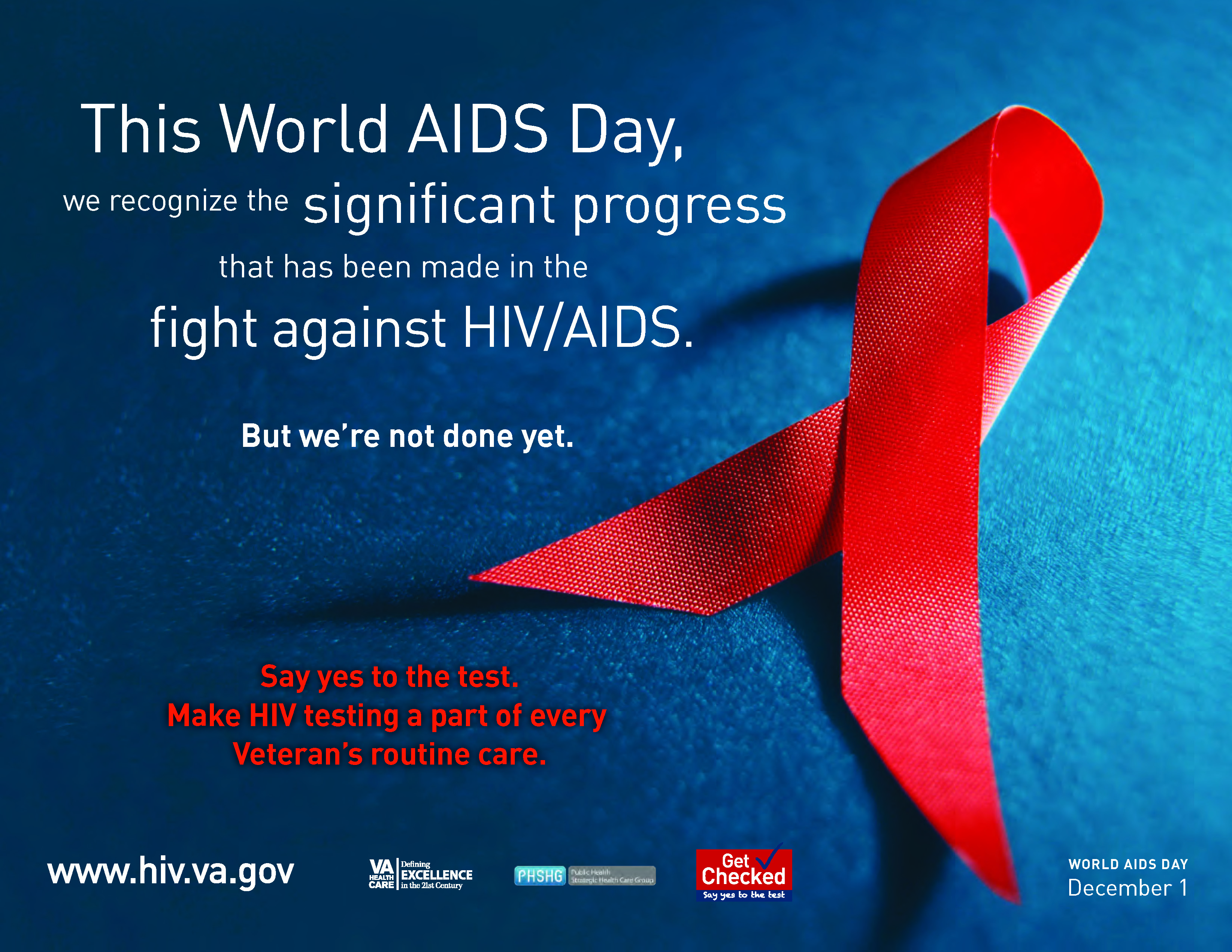 World AIDS Day, December 1, 2010 - VA National HIV/AIDS Website