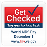 Image of World AIDS Day web badge