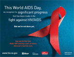 Image of World AIDS Day Poster for Veterans