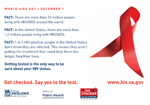 Image of World AIDS Day Tent Card