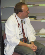 head shot of Mark Beilke, a VA physician